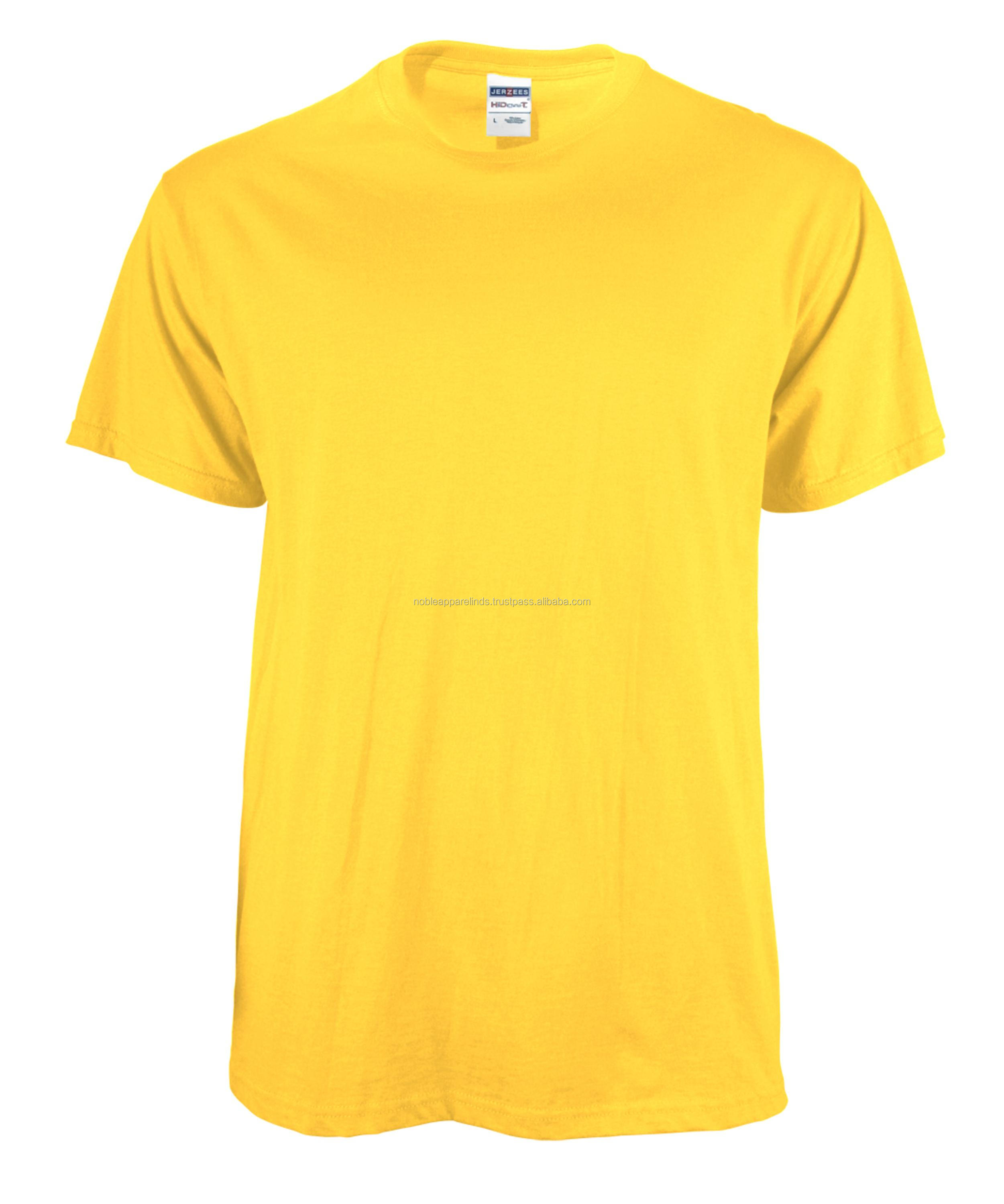 T shirt yellow color plain full t shirts nice sttich and fit fitting style for boy graceful design boy