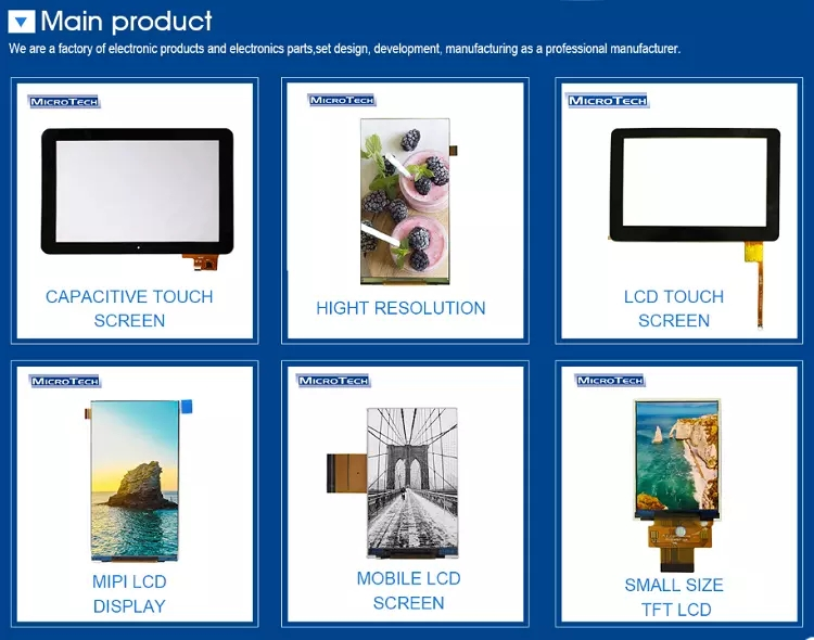 Industriële 13.3 inch touch screen full HD monitor fabrikant capacitieve touch LCD display module
