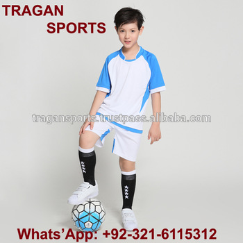 872ff6f68 Customers' Team Kids Soccer Uniform / Custom Soccer Jerseys Children Sports  Suits Training Soccer Uniforms
