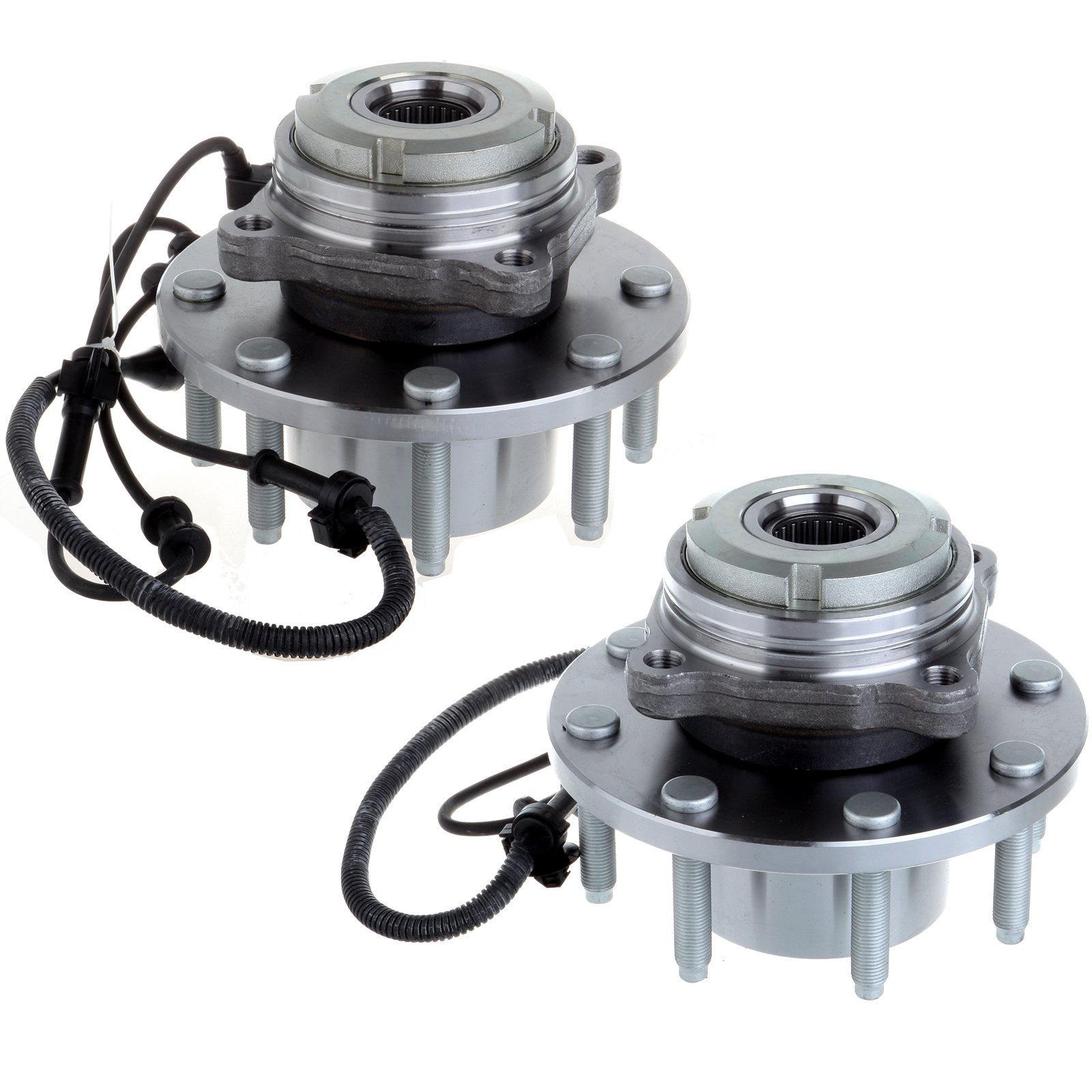 ECCPP 2 Front LH Or RH Wheel Hub Bearing Assembly For Excursion F250 Super Duty F350 Super Duty 4WD 4 X 4