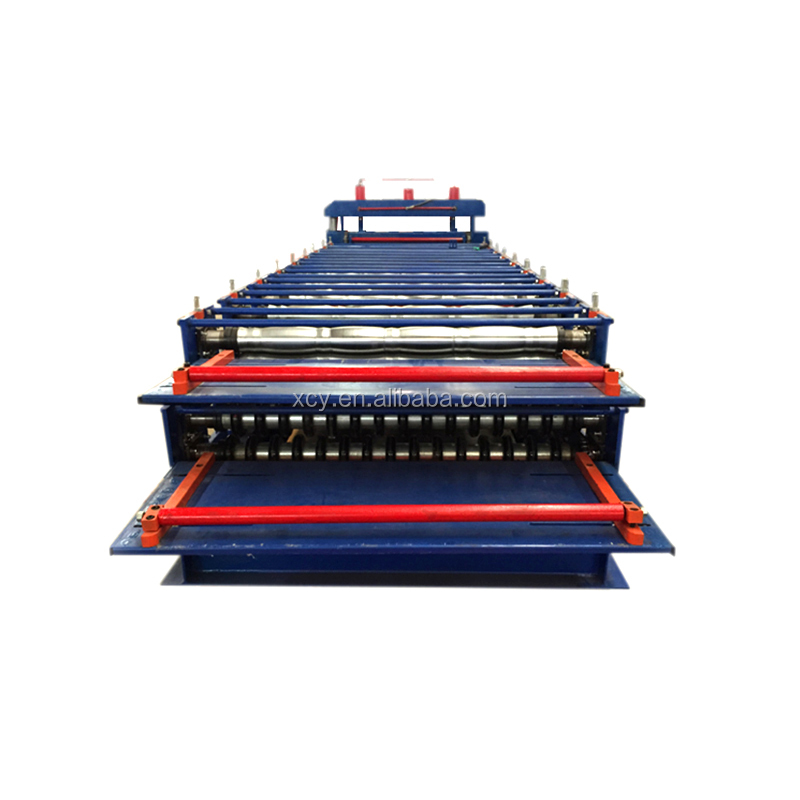 Roofing Tile Galvanized Iron Sheet Machine Maker