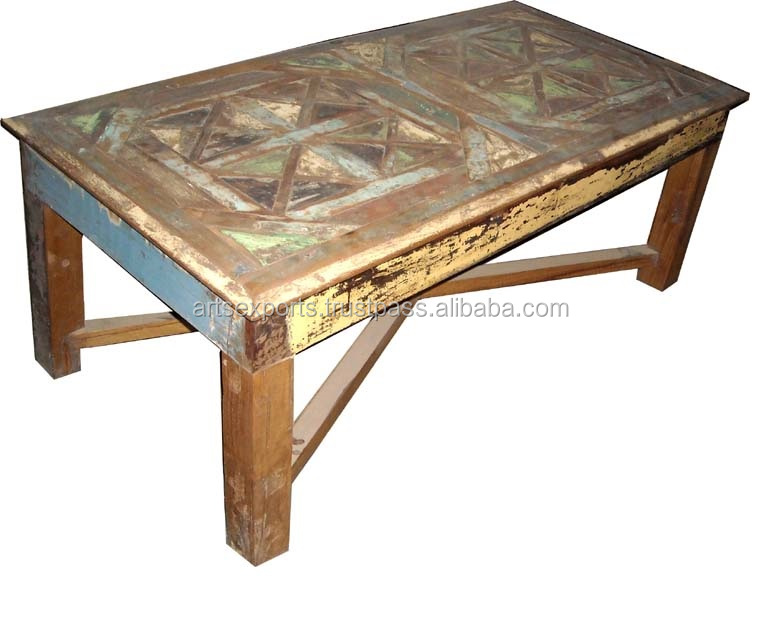 Industrial Old Wood Dinning Table