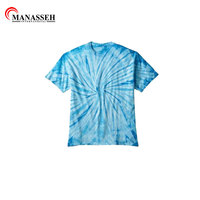 High quality Custom Multi-Color Tie Dye T-Shirts Kids & Adult Hand dyed Cotton Colortone-Gildan