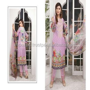 984ec65ac3 3 Piece Pakistani Lawn Suits, 3 Piece Pakistani Lawn Suits Suppliers and  Manufacturers at Alibaba.com