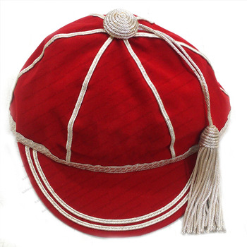 9acce858119 Honours Caps Red With Silver Braid And Tassel - Buy Honours Caps Red ...