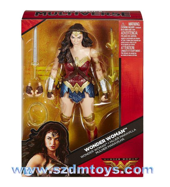 Terkenal Film Plastik Kartun Karakter Wonder Woman Action Figure