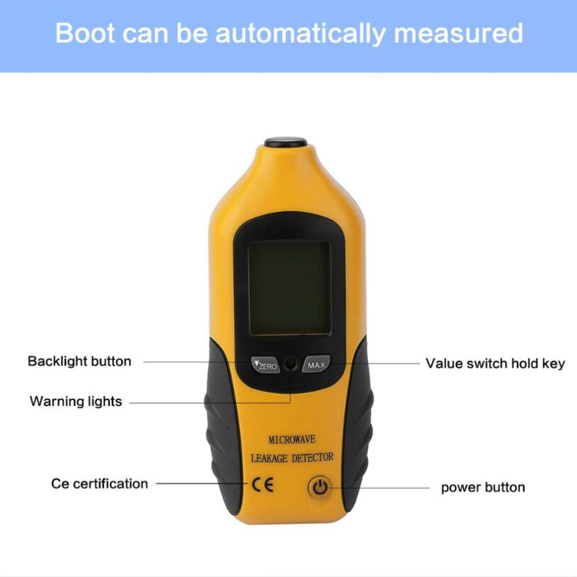 Portable Digital LCD Backlight Microwave Leakage Radiation Detector from Guangdong Xintai