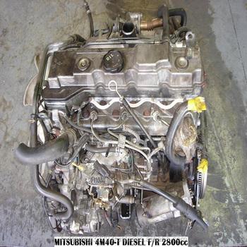 Used Diesel Engine Mitsubishi 4m40 Turbo Intercooler (pajero) - Buy Pajero  Delica L300 L400 Mitsubishi 4m40 4d56 Engines,V24 V26 V44 V45 V46,Used