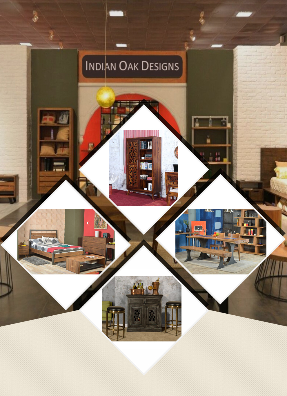 Superieur INDIAN OAK DESIGNS   Furniture,Vintage Furniture