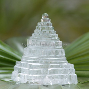 Crystal Shree Yantra, Gemstone Energy Generator Tool~ Sphatik Shree Yantra