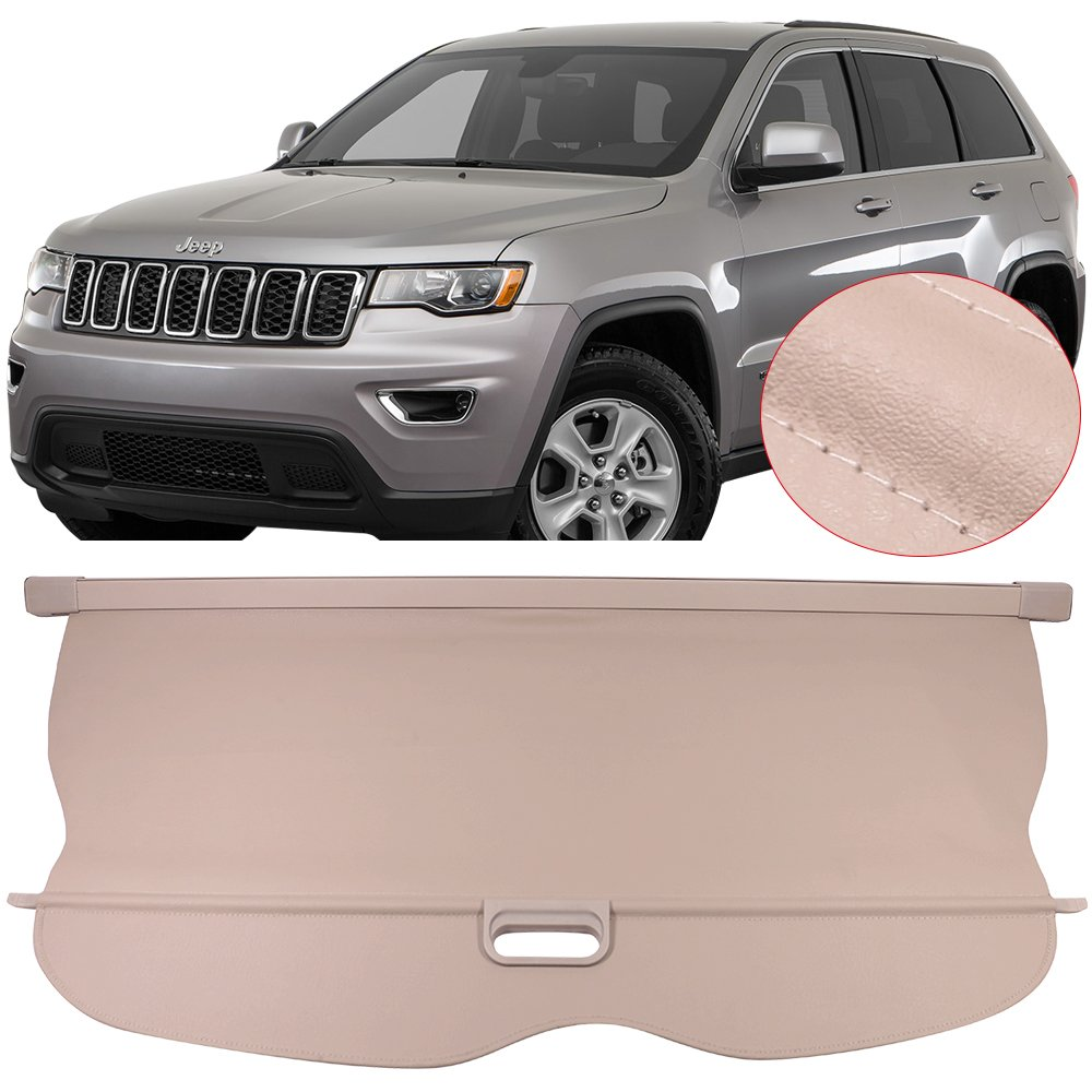 2011-2013 Jeep Grand Cherokee Cargo Shade Security Cover BLACK GENUINE OEM