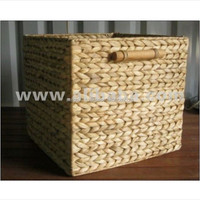 all woven high quality water hyacinth basket