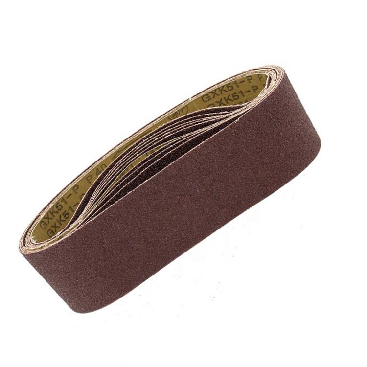 12 Pack, 24 Grit 3 X 21 Inch Sanding Belts Zirconia Cloth Narrow Sander Belts