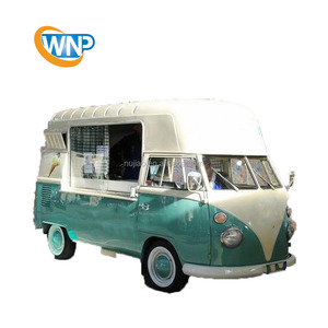 electric food truck equipped with snackmachines vintage vw bus food truck manufacturing