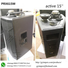15'' PRX615M powered speakers