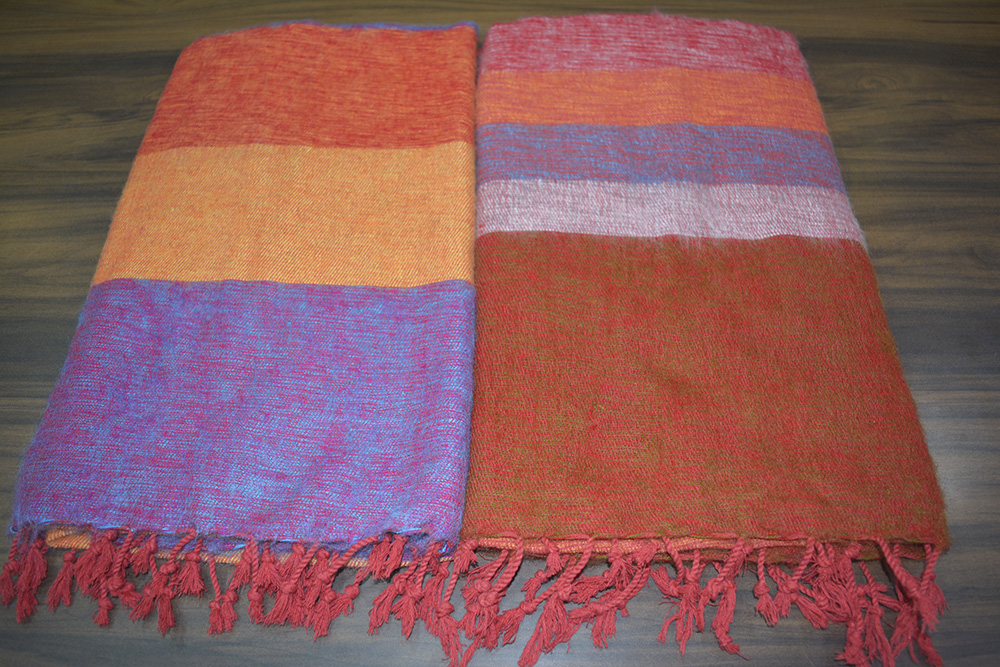 Yak Wool Blankets Shawl from Nepal in Cheap Prices Wholesale