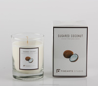 High Quality glass jar for candles aroma candle best- seller candle Made in Thailand