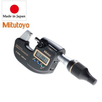 Mitutoyo Coolant Proof Quantu Mike MicrometersSERIES 293 MDE Micrometer Digital
