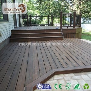 new co-extrusion wpc wood polymer composites solid decking