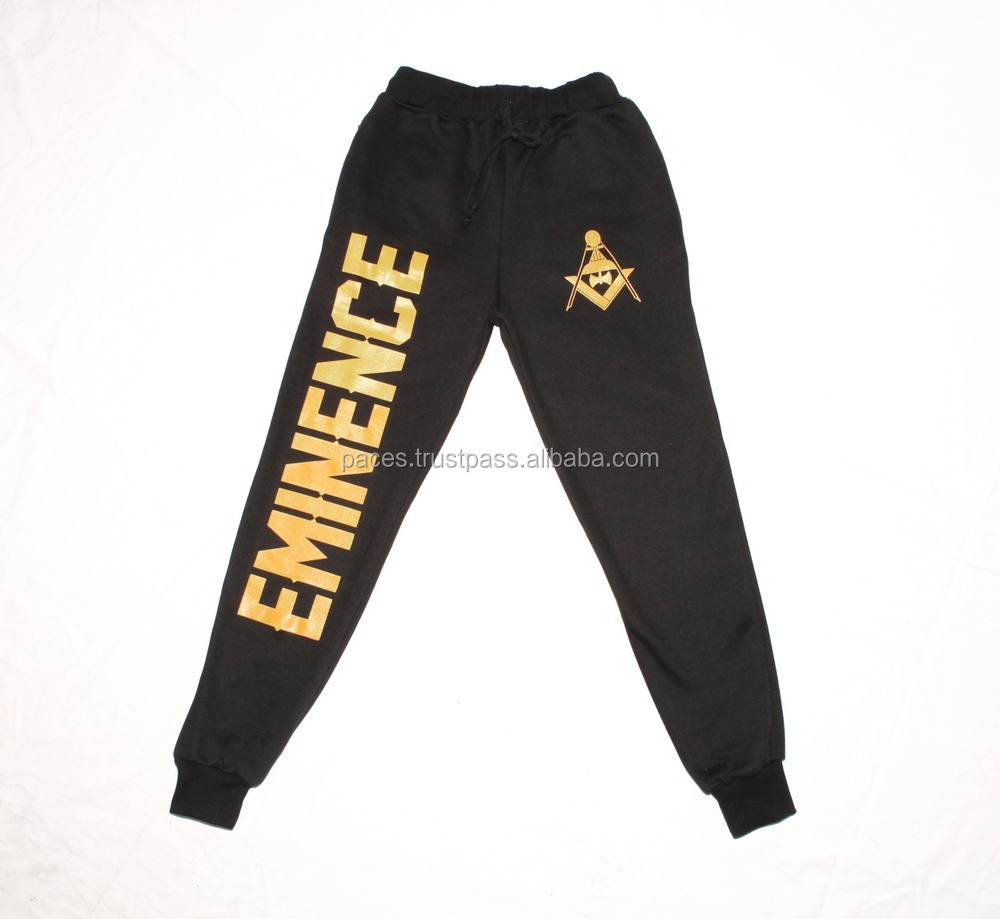 Men's Sports Cotton Track Pants Mans Warm Fleece Trousers Women Sweat Pant Fleece Trouser Fitting