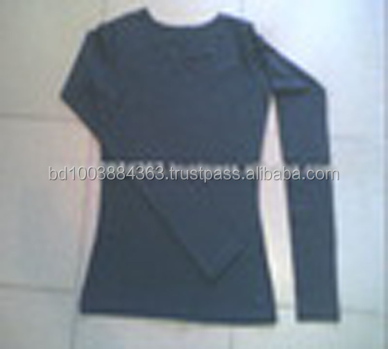 Ladies Long slleve Blank - T Shirt