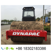 ใช้CA30D Dynapac Single Drum Vibratoryรถบดถนน