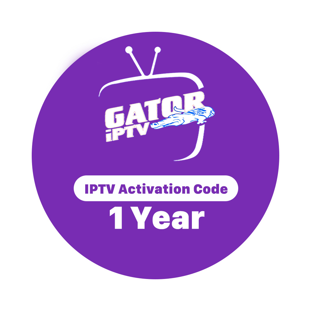 1 Year Gator Iptv Best Selling Iptv Subscription In 2019 For Us Ca Arabe  With Reseller Panel - Buy Iptv,Iptv Box,Iptv Subscription Product on