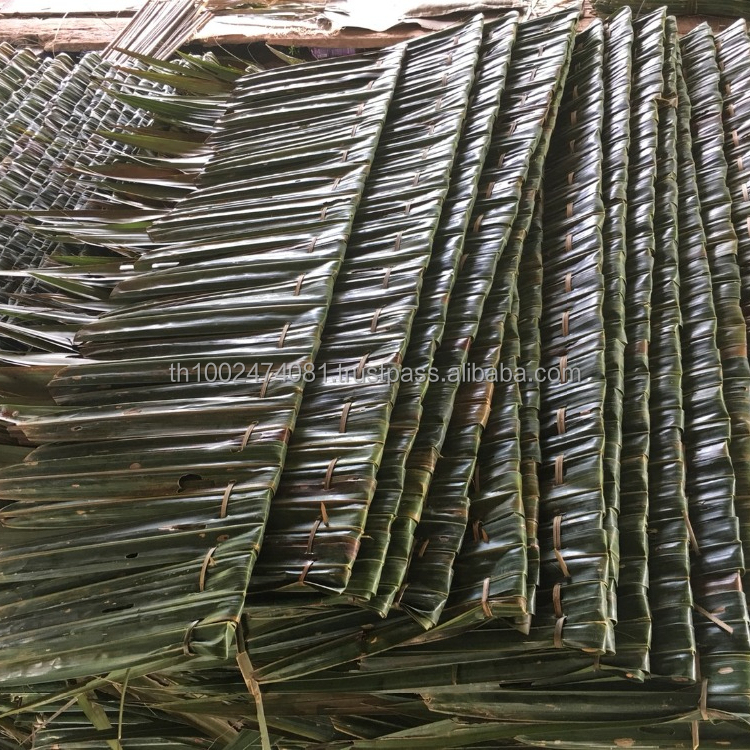 Natural Palm Leaves Thatch Roofing