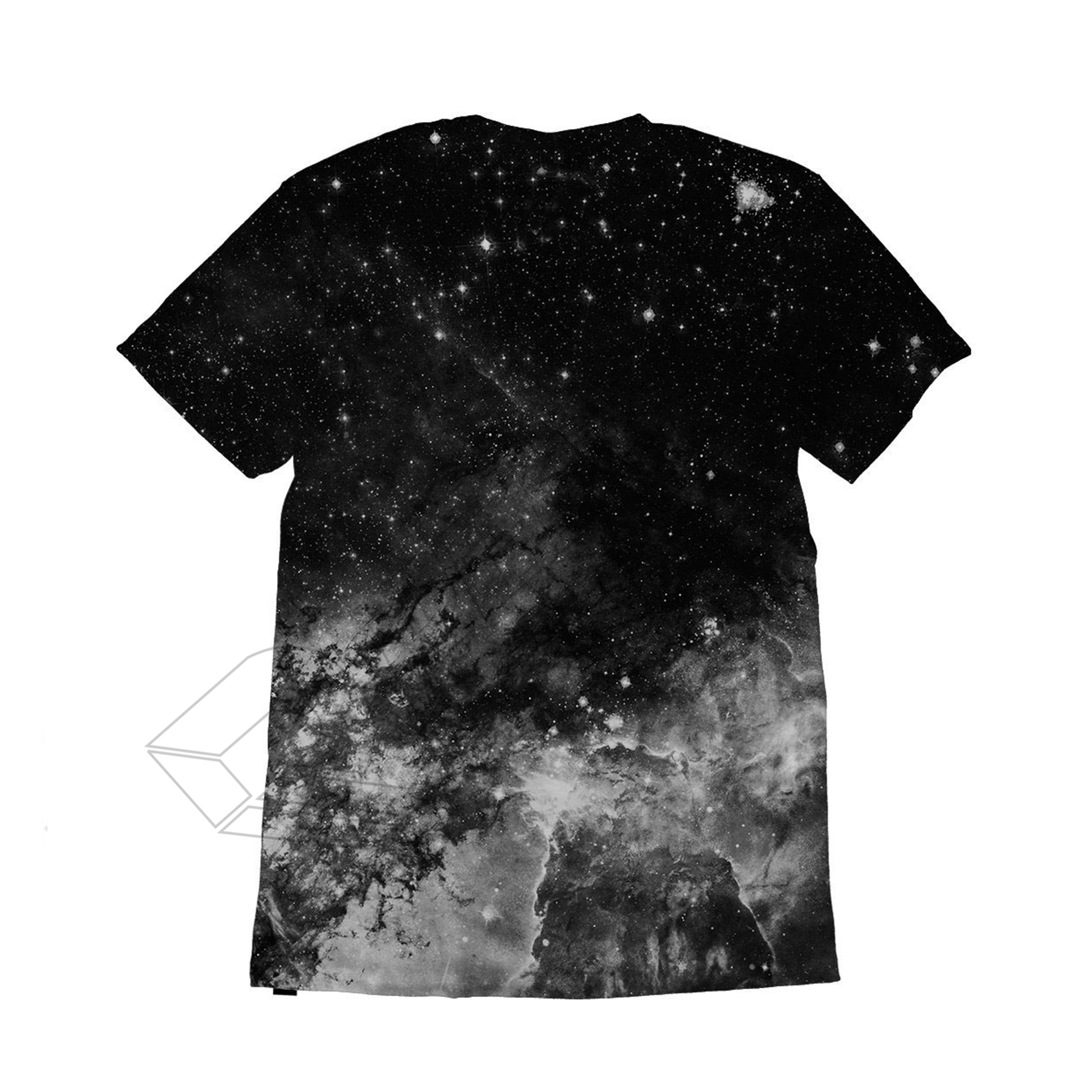 All Over Galaxy Print T Shirt Created With The Sublimation Printing