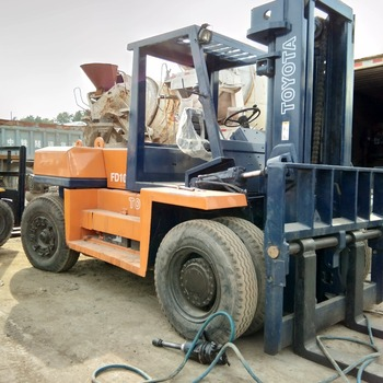 Toyota Diesel Truck >> Toyota Diesel Engine Two Stage Mast Used 10 Ton Fd100 Toyota Forklift Japan Originally Cheap Price Buy Used 10 Ton Forklift Used Toyota Forklift