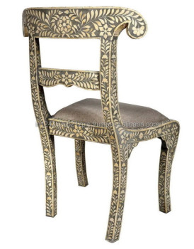 Bone Inlay Vintage Royal Chair