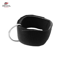 Neoprene Ankle Cuff Gym Strap weightlifting D Ring workout