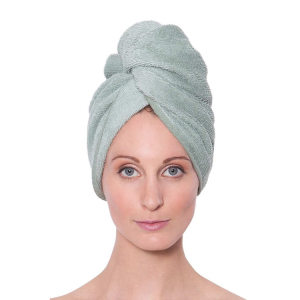 quick dry twist hair wrap towel organic cotton hair turban towel