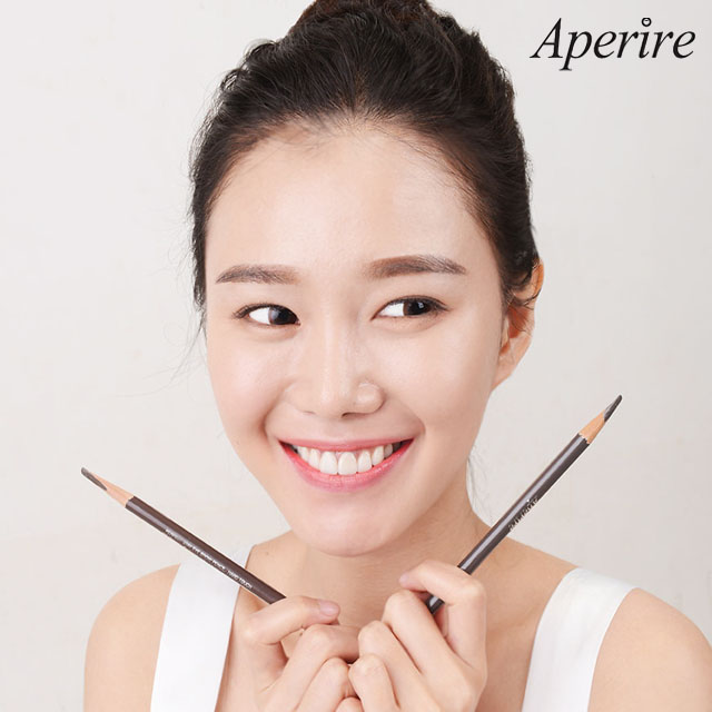 Aperire Perfect Stay Eyebrow Pencil Korean Brand Natural Eye Brow Pencil 2 Colors Korea Cosmetic Brands Make Up
