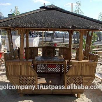 [vente En Gros] Meubles Naturels-bambou Tiki Bar-bar En Bambou  Maison-bambou Gazebo-meubles De Jardin En Bambou - Buy Ensembles De Jardin  En Bambou En ...