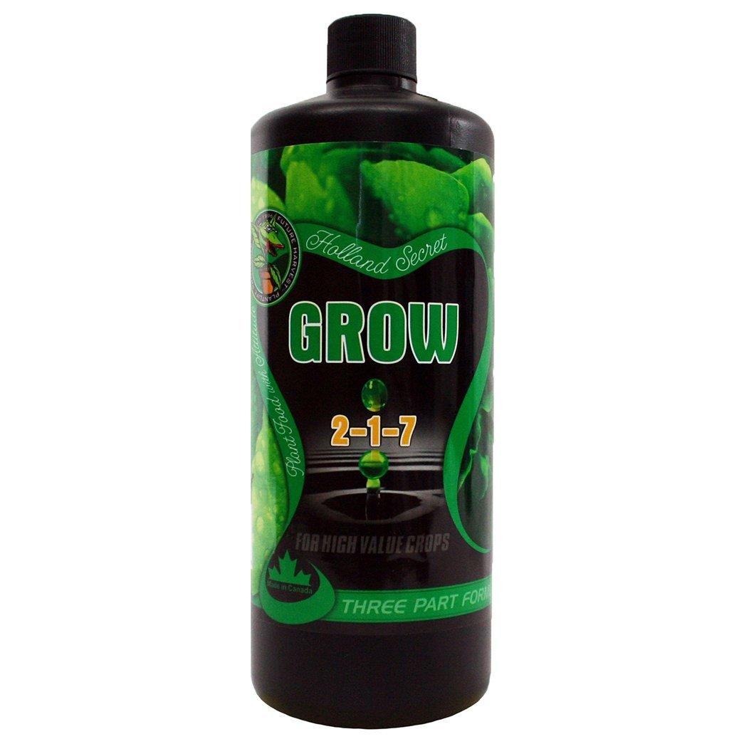 Future Harvest 0700222 Holland Secret Grow 2-7-1 Fertilizer, 1 quart