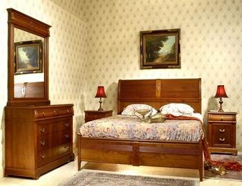 Master Schlafzimmer-italienischen Stil-natürliche Holz-erdnuss Furnier -  Buy Italienischen Schlafzimmer Möbel,Kolonial Stil Schlafzimmer Möbel,Stil  ...