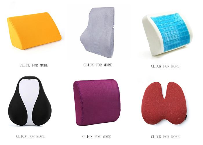 Amazon hot koop traagschuim kussen lendensteun auto terug massage