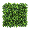 50x50cm 12pcs/ctn 100 % recycled artificial green decor plastic green leaf for backdrops