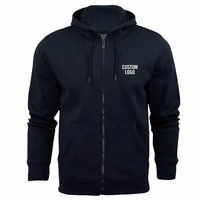 Custom printed wholesale price zipper hoodie
