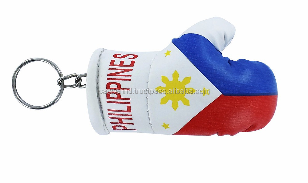 Philippians flag Mini Boxing Gloves keychain