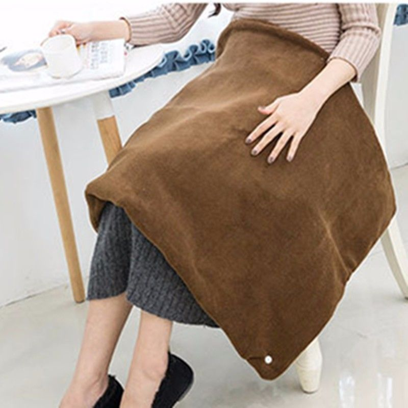 Usb Heated Shawl And Lap Blanket Throw Perfect Alternative To A Mini Office