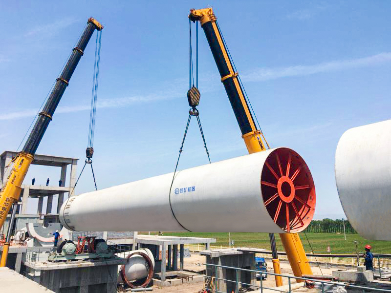 Active lime rotary kiln | LCDRI CN