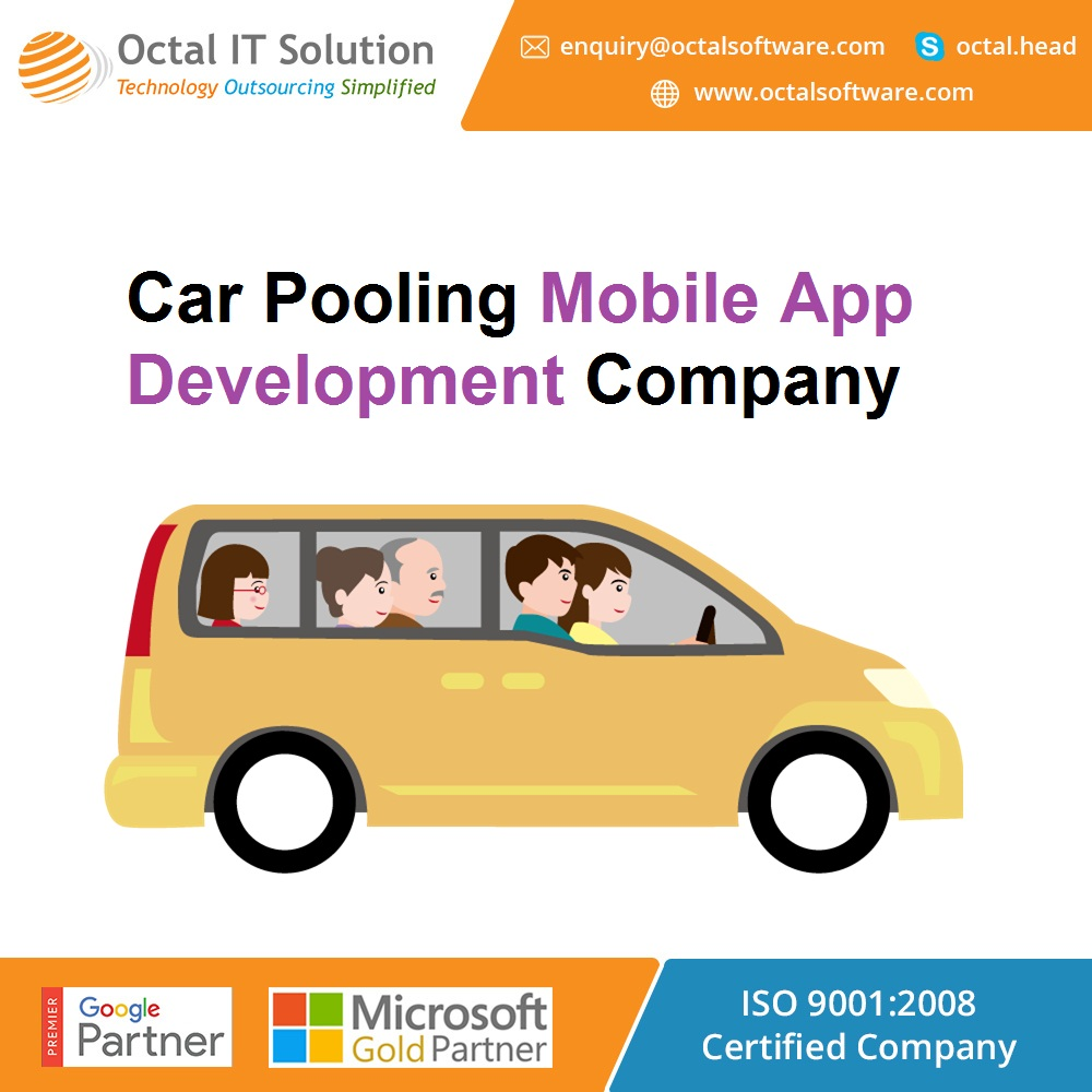 Carpool, Bike pool and Ride share application in India