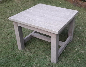 Rectangular End Table Rustic Weathered Gray Teak Outdoor Garden Furniture  Indonesia - Buy End Table,Outdoor Furniture,Indonesia Furniture Product on  ...