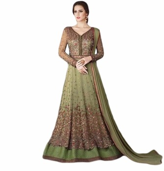 ae6d7757f4 2017 Occasion Party Wear Anarkali Suits / Latest Heavy Embroidery Anarkali Dress  Materials (anarkali dresses