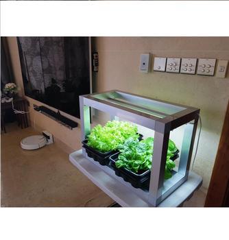 diy led indoor gardening kit with growing lamp_led plant grow light - Indoor Vegetable Garden Kit