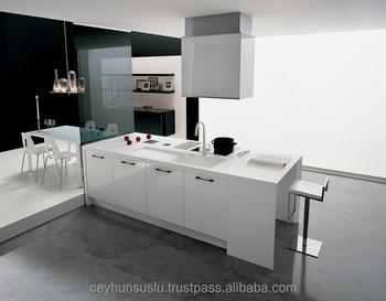Outdoorküche Tür Türkei : Moderne insel weiß küche mit hochglanz tür buy insel