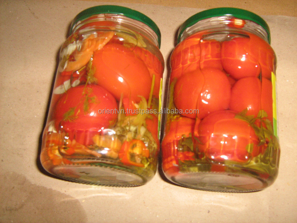 Salty taste and 2 years shelf life Pickled cherry tomato/ tomato