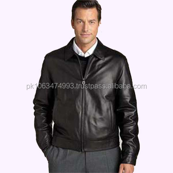 leather fashion jackets cheap/genuine leather jacket cheap